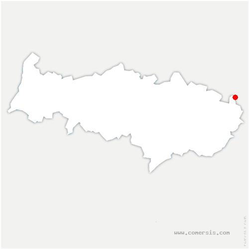 carte de localisation de Survilliers