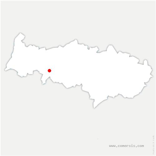 carte de localisation de Théméricourt