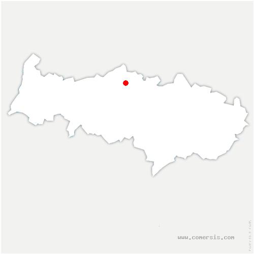 carte de localisation de Theuville