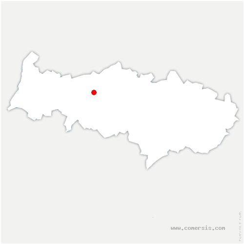 carte de localisation de Us