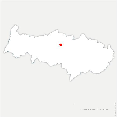 carte de localisation de Vallangoujard