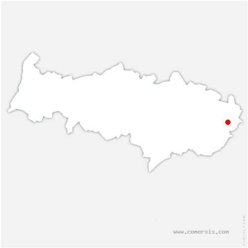 carte de localisation de Villeron